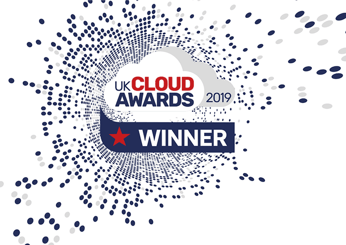 Visit UK cloud Awards website
